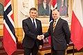 Oficjalna wizyta marszałka Sejmu Marka Kuchcińskiego w Norwegii 04.jpg