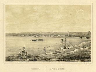 Okhotsk - Okhotsk in 1857