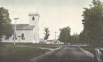 Canaan, New Hampshire - Image: Old North Church, Canaan, NH