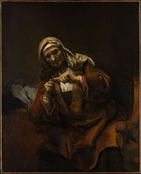 Old Woman Cutting Her Nails MET DP146474.jpg