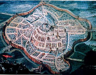 Udine - Udine as it appeared in 1650.