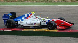 Oliver Rowland - Oliver Rowland in Motorland Aragon 2014