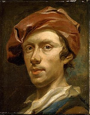 Olof Arenius - Self-portrait, now in the Nationalmuseum.