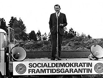 Olof Palme - Palme in 1968