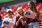 Olympic Games 2016 match between the women's teams of the United States - Sweden. 02.jpg