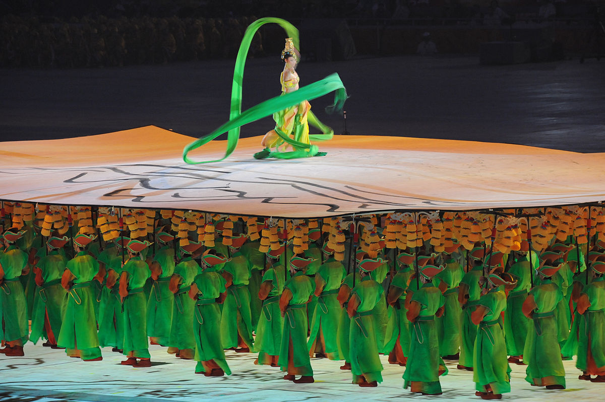 Opening ceremony of the 2008 Olympic Games in Beijing, China, Aug. 8, 2008.JPG