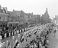 Opening van de Jan van Riebeeck feesten in Culemborg, met een groot defilé op de, Bestanddeelnr 905-0389.jpg
