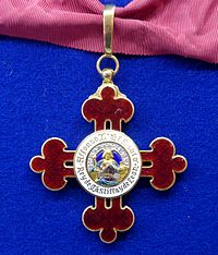 Order of Alfonso X the Wise commander badge (Spain 1962) - Tallinn Museum of Orders.jpg