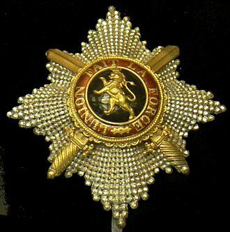 Orders, decorations, and medals of Belgium - Image: Ordre de Leopold CKS plaque p 1090312