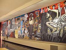Chicano art movement wikipedia for Dartmouth mural