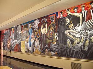 The Epic of American Civilization - Image: Orozco Dartmouth c