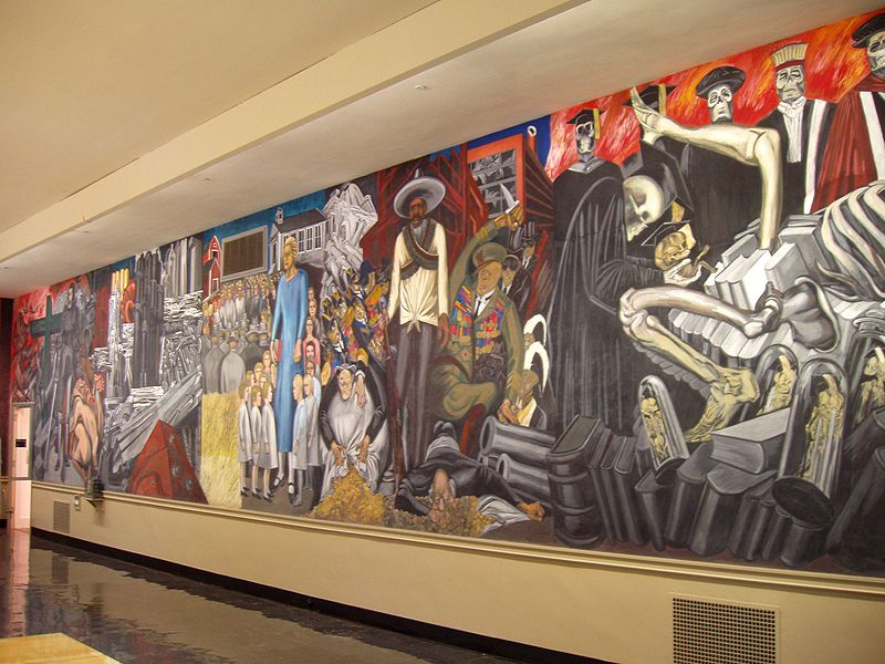 Denver international airport murals pirate4x4 com 4x4 for Denver mural airport