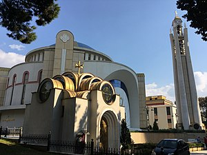 Tirana County - Resurrection Cathedral