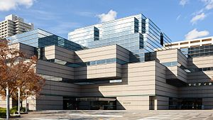 Osaka Prefectural Central Library 201611.jpg