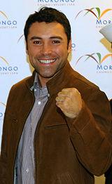 Oscar De La Hoya at Morongo Casino
