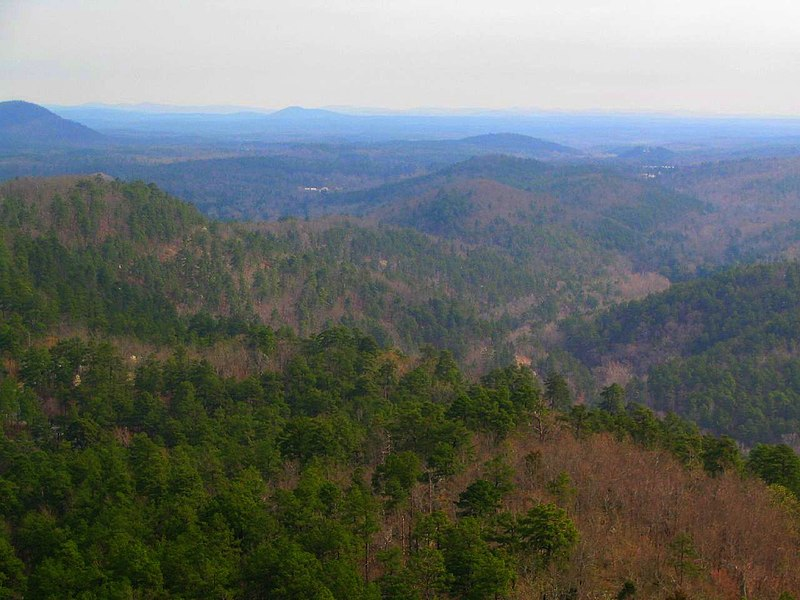 File:Ouachita Mountains from Hot Springs Mountain Tower.jpg