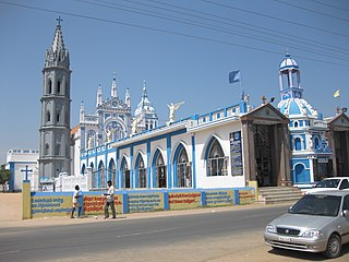Basilica of Our Lady of Snows, Thoothukudi Church in Tamil Nadu, India