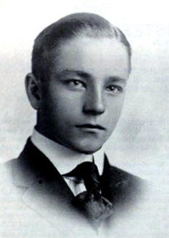 Owen Harding Wangensteen - Wangensteen on his graduation from the University of Minnesota, 1919.