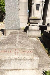 Père-Lachaise - Division 96 - Lemoine 01.jpg