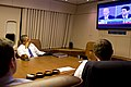 P101112ps-488 Air Force One Obama watches VP debate.jpg