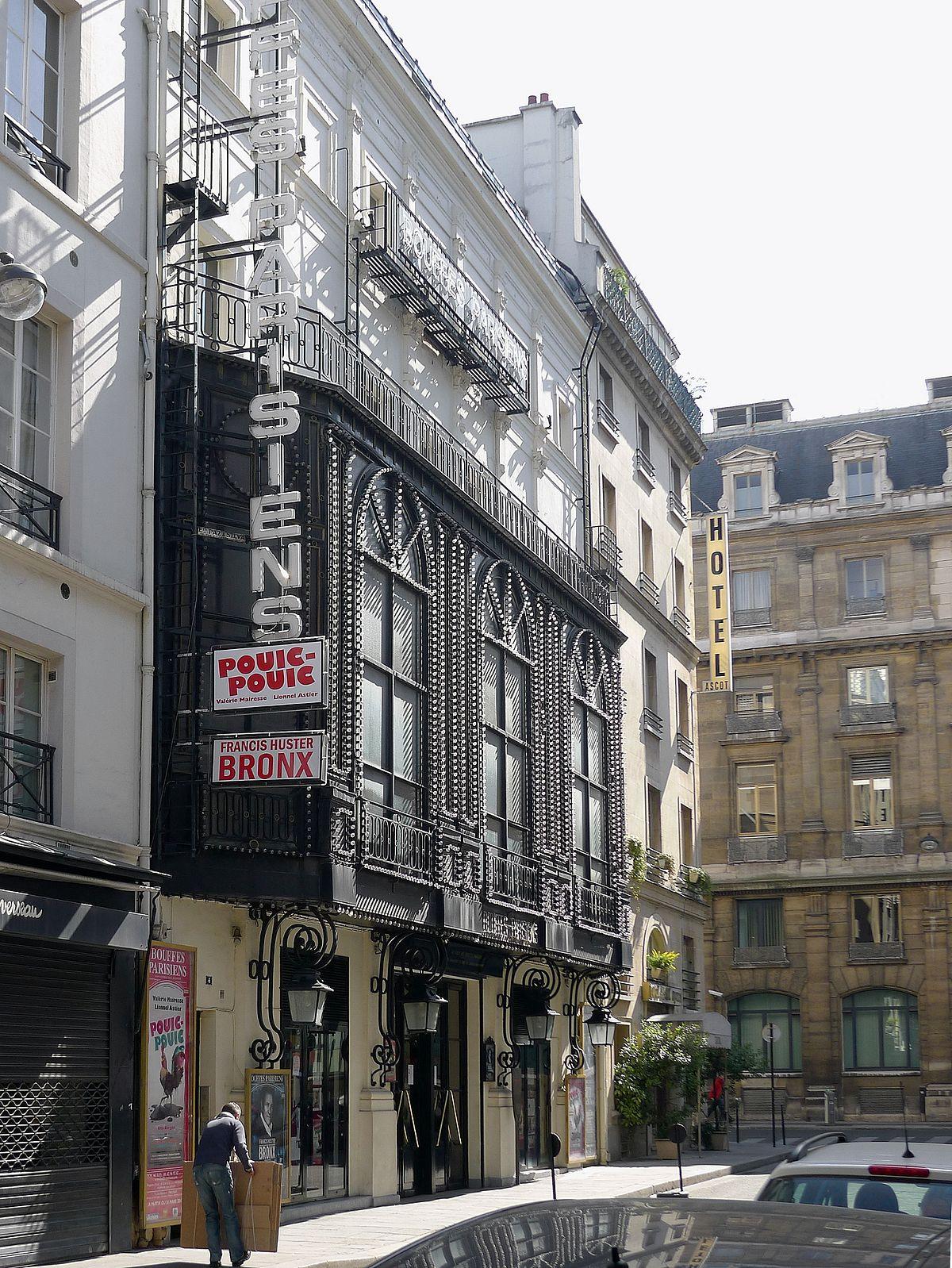 Théâtre des Bouffes-Parisiens — Wikipédia