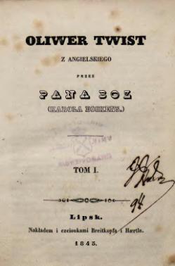 Oliwer Twistcałość Wikiźródła Wolna Biblioteka
