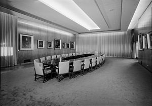 PSFS Building - The PSFS Boardroom 1985