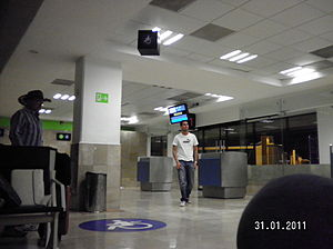 Licenciado Gustavo Díaz Ordaz International Airport - Gate 1.