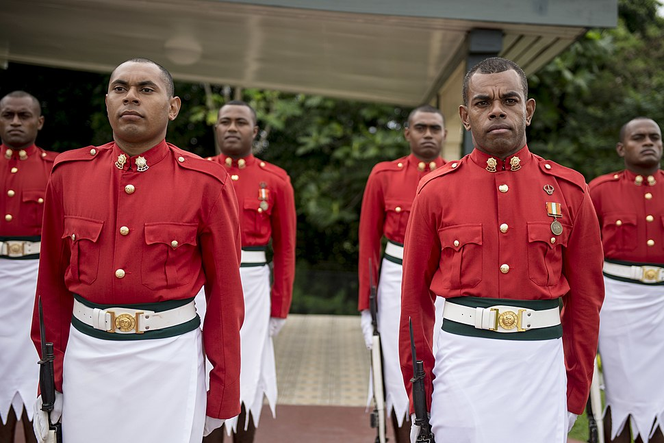 Pacific Partnership 2015 leaders visit Republic of Fiji Military Forces Strategic Headquarters 150609-F-YW474-061