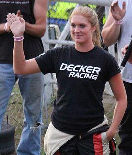 Paige Decker American racing driver