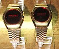 Pair of Vintage LED Watches from the 1970s With National Semiconductor Timekeeping Modules (8090748968).jpg
