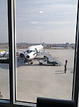 Pakistan International Airlines Airbus A320 Retro Livery Faisalabad Airport.jpg