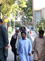 Pakistani pilgrimes of Mohammad al-Mahruq Mosque - October 15,2013 - Nishapur 12.JPG
