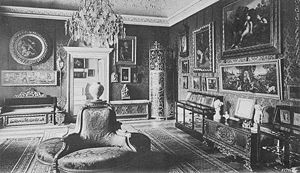 Palais Lanckoroński - The Italian Salon.