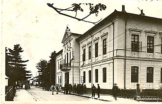 Gorj County - The Gorj county Prefecture building of the interwar period.