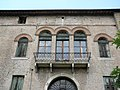 Palazzo Perolari-Malmignati, retro, balcone (Lendinara).jpg