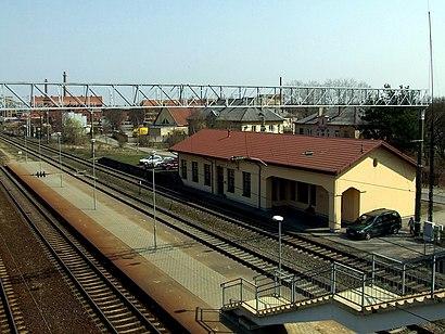How to get to Palemono geležinkelio stotis with public transit - About the place