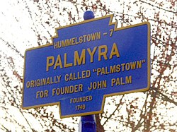 Official logo of Palmyra, Pennsylvania