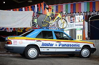 Panasonic (cycling team) - Panasonic–Isostar team car