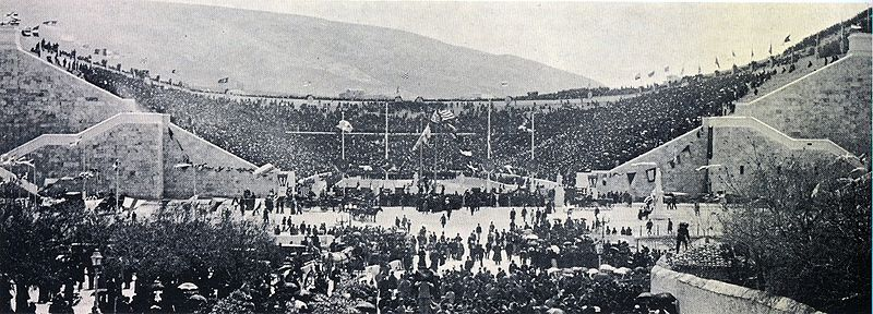 First modern olympic games held in athens