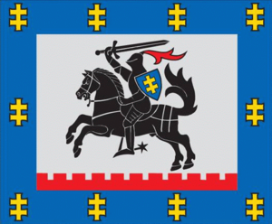 Papilys - Image: Panevezys County flag