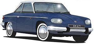 1963 Panhard 24CT.