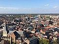 Panorama Hasselt- stadscentrum met Sint Quintinuskathedraal en Blauwe Boulevard.jpg