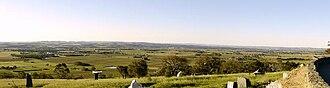 Mengler Hill - The Barossa Valley, looking northwest from Mengler's Hill