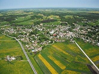 Kaltinėnai - Image: Panorama of Kaltinėnai, Lithuania