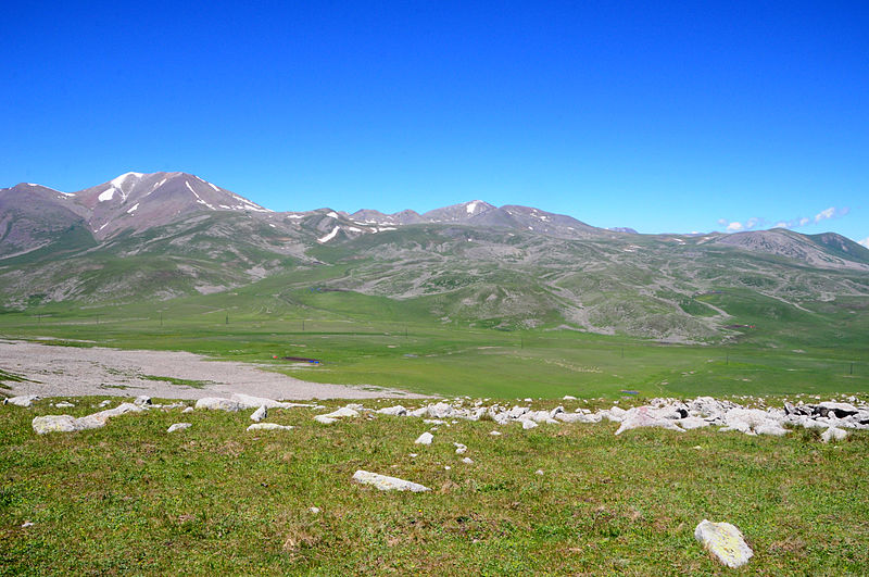 Volcanic Paravani Lake