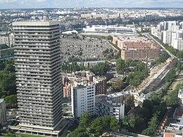 Boulevard kellermann wikip dia for Arrondissement porte d italie
