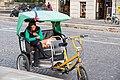Paris 75001 Place du Pont-Neuf 20161028 Cycle taxi.jpg