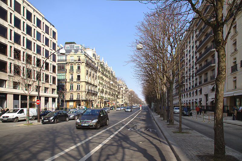 File:Paris avenue montaigne sans verdure.jpg
