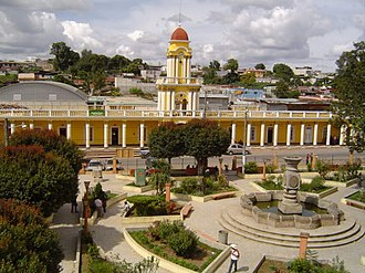 Patzún - Central Plaza and municipality